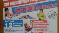 Yaz Spor Okulları Kayıtları Devam Ediyor