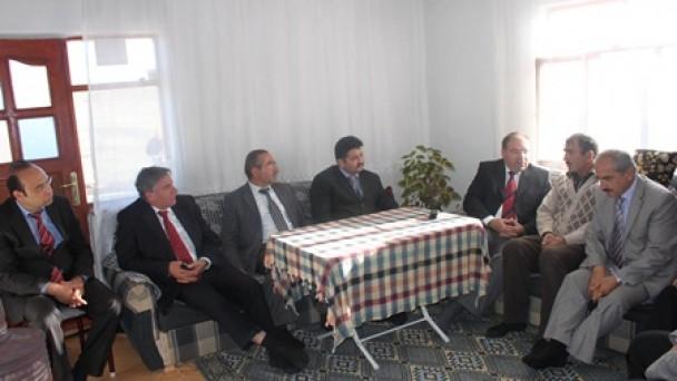 Şehit Murat Çökmez'in Ailesine vefa ziyareti