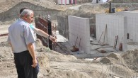 Atık Su Arıtma Tesis inşaatı hızla yükseliyor