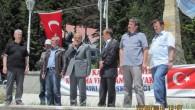TÜRK ve TÜRKAV Bayrağını diktiler