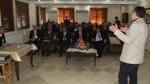 Tosya Orman İşletme Müdürlüğünde amenajman bilgilendirme toplantısı düzenlendi
