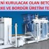 BETON PARKE VE BORDÜR ÜRETİM TESİSİNDE REVİZYON