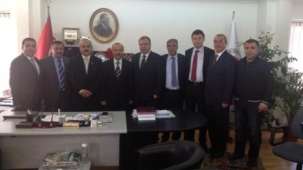 Tosya heyeti, Genel Müdür Öztürk'ü ziyaret etti