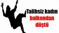 Tosya'da Balkondan Düşen Kadın Öldü