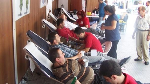 Kan Bağışında Tosya 1.Sırada