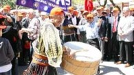 1 Mayıs İşçi Bayramı Kastamonu`da ilk kez kutlandı.