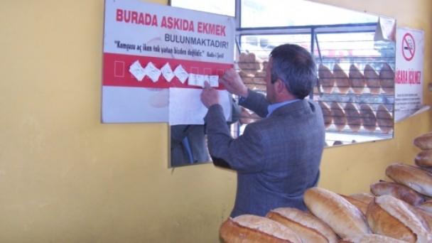 Tosya'da Kimsesizlere Ekmek Yardımı!