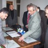 Vali Bektaş'ın Tosya ziyareti Organize Sanayi Bölgesine cansuyu gibi geldi.