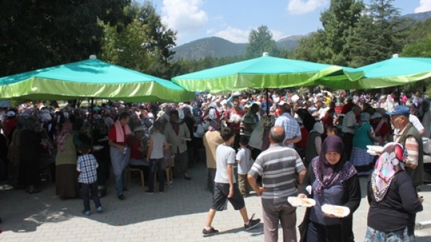 Festivalin son gününde sünnet şöleni düzenlendi