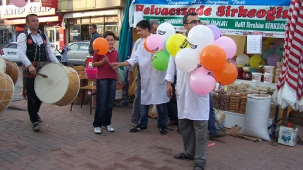 Zade Helva'dan Festivale Özel Balon