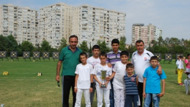 Minik Okçularımız Türkiye 3.'sü Oldu