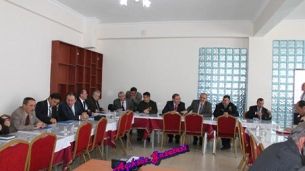 """Tosya """"İlçe İdare Şube Başkanları"""" toplantısı yapıldı"""