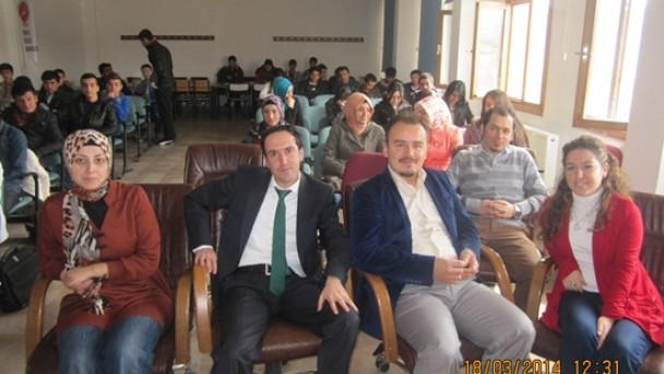 Yüksekokul'da Çanakkale Sempozyumu Düzenlendi