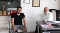 Abdullah Civliz'den gazetemize ziyaret