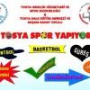 Tosya'da 7 Dalda Spor Kursu Açılıyor