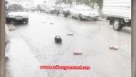 Sağnak Yağış ve Fırtına Tosya'yı Felc etti