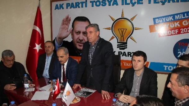 Ak Parti Tosya Belediye Başkan Adayı Kazım Şahin