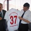 VALİ BEKTAŞ'TAN TOSYA BELEDİYESPOR'A DESTEK SÖZÜ