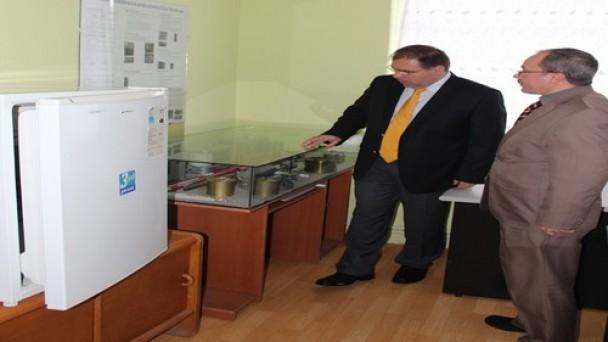 Türköz'den   Meteoroloji Müdürlüğü'ne  ziyaret