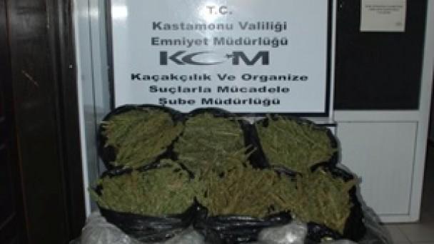 Uyuşturucu Yüklü Otomobile Tosya Polisi Dur Dedi