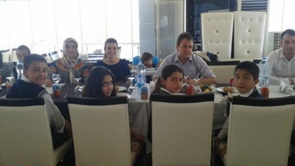 Fatih Ortaokulu  Başarısını Kutladı