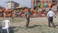 Tosya'da lunapark kuruluyor