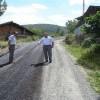 Kaymakam Türköz, asfalt çalışmalarını denetledi