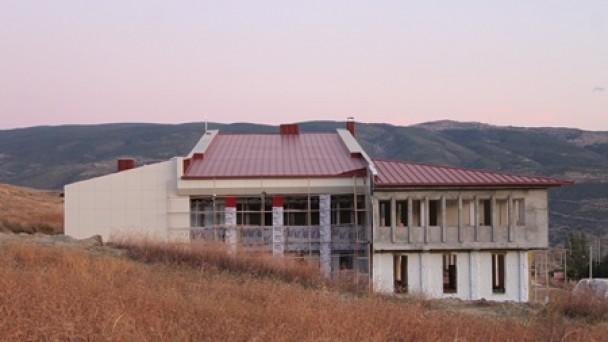 Tosya Kültür Merkezi inşaatında sona gelindi