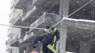 Tosyalı Rambolar Kar Altında Tatbikat Yaptı