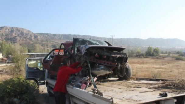 Şehir Girişinde Kaza; 6 Yaralı