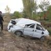 Çankırı Kavşağında Kaza