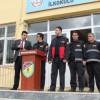 Tosya'da deprem tatbikatı, gerçeğini aratmadı