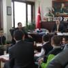 Kaymakam Türköz'ü Ziyaret Ettiler