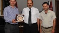 İha Bölge Müdürü Sav, Rektör Aydın'ı Ziyaret Etti