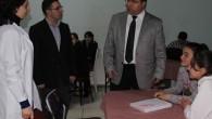 Tosya Kaymakamı Mehmet Türköz, Tosya Bilgi İlköğretim Dershanesi'ni ziyaret ederek incelemelerde bulundu.