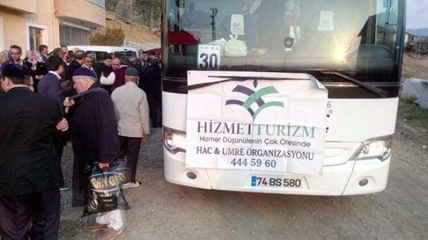 Hizmet Turizm Umre Kafilesi Yola Çıktı