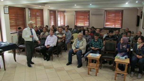 """İş Güvenliği""""semineri verildi"""