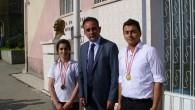 Öğrenciler Ödüllerini Aldı