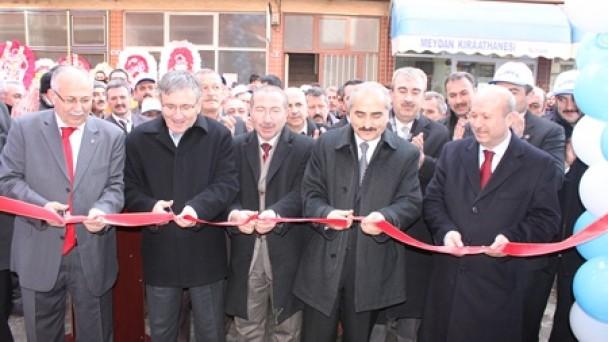 Belediye-İş yeni ofisinde!