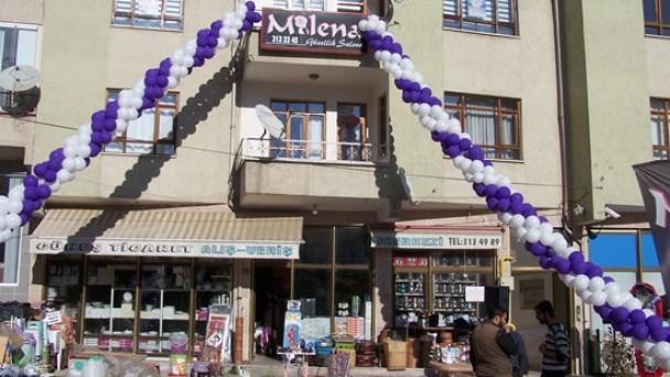 Milena Güzellik Salonu Açıldı