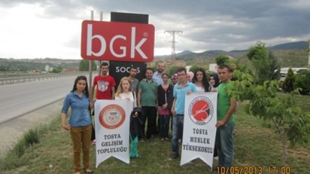 Tosya Gelişim Topluluğundan Gezi