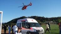 Ambülans helikopter ilk görevini yaptı