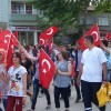 Tosya'da Bayrağa Saygı Yürüyüşü