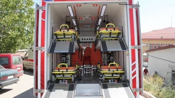 Tosya'ya 4 Yataklı Acil Nakil Ambulansı
