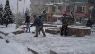 Tosya'da Kar Yüzünü Hafta Sonu Gösterdi