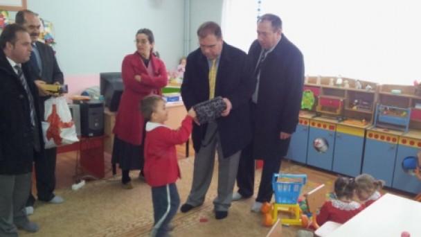 Dumlupınar İlkokulu'nu ziyaret