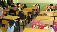 Tosya'da minik öğrencilerle deprem tatbikatı yapıldı