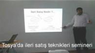 Tosya'da İleri Satış Teknikleri