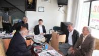 Nalbantoğlu Tosya Esnafını Ziyarete Devam Etti
