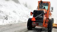 Bozkurt'ta kar yağışı